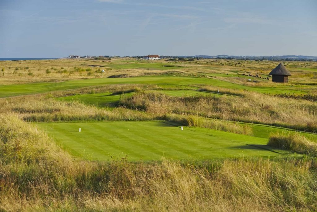 The Princes Links Sandwich Bay Golf in England 9